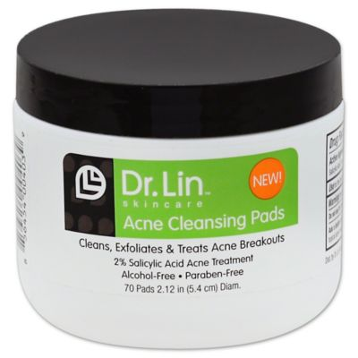 Dr. Lin™ Skincare 70-Count Acne Cleansing Pads