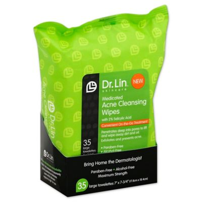 Dr. Lin™ Skincare 35-Count Acne Cleansing Wipes
