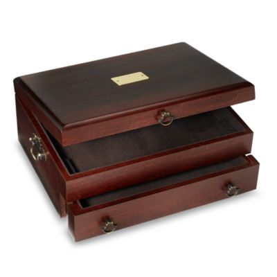 Reed & Barton® Flatware Chest in Bristol Mahogany