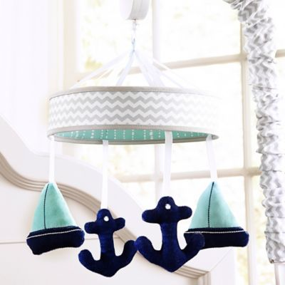 Wendy Bellissimo™ Mix & Match Sailboat Musical Mobile