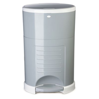 Diaper Dekor® Mini Diaper Disposal System in Grey