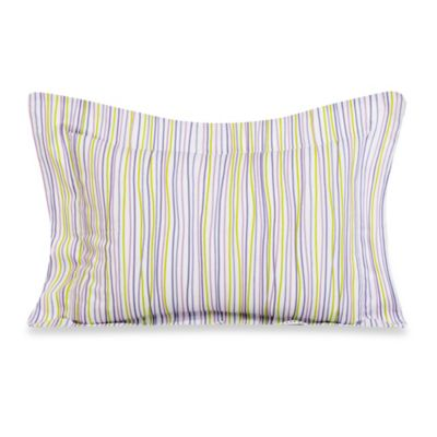 Glenna Jean Lulu Large Pillow Sham in Multi Stripe