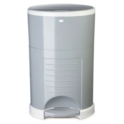 Diaper Dekor® Classic Diaper Disposal System in Grey