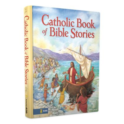 """Catholic Book of Bible Stories"" by Laurie Lazzaro Knowlton"