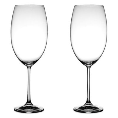 Fitz and Floyd® Avery Wine Glass in Clear (Set of 2)