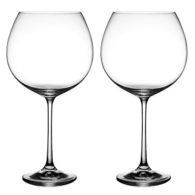 Avery Wine Goblet in Clear (Set of 2)