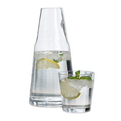 Clear Glass Water Set