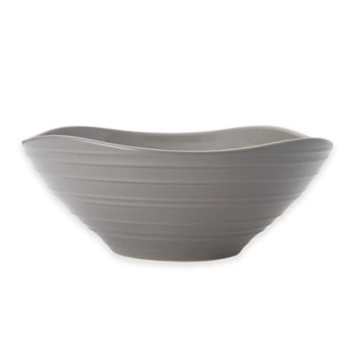 Mikasa® Swirl Square Vegetable Bowl in Mocha