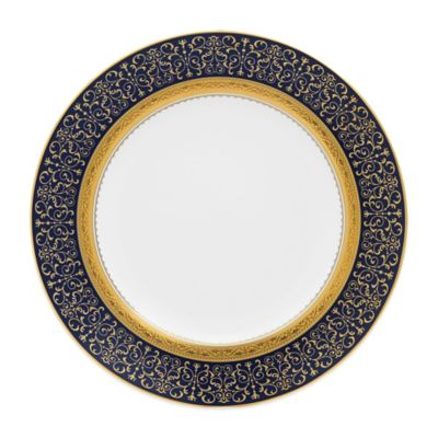 Noritake® Odessa Cobalt Accent Plate in Gold
