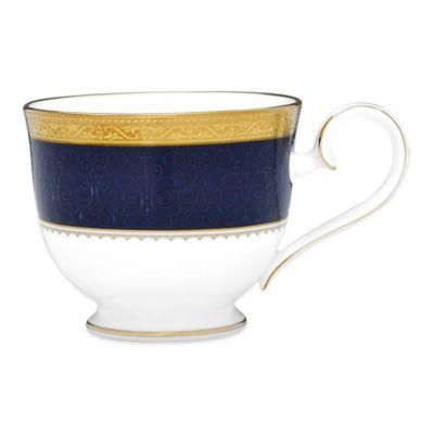 Noritake® Odessa Cobalt Teacup in Gold