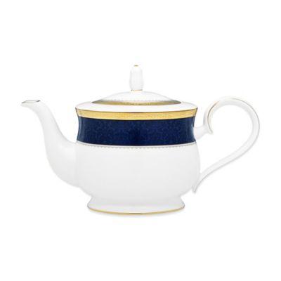 Noritake® Odessa Cobalt Gold 43 oz. Teapot