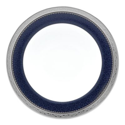 Noritake® Odessa Cobalt Salad Plate in Platinum