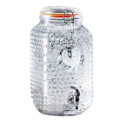 Rooster Beverage Dispenser in Clear