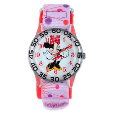 Disney® Minnie Mouse Children's 32mm Watch with Pink Strap