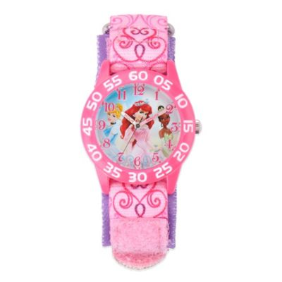 Disney® Princesses Children's 32mm Pink Watch with Pink Strap