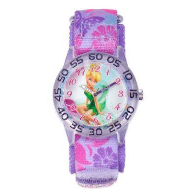 Disney® Tinker Bell Children's 32mm Watch with Purple Strap