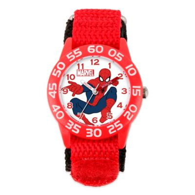 Marvel Spider-Man Children's 32mm Watch with Red Strap