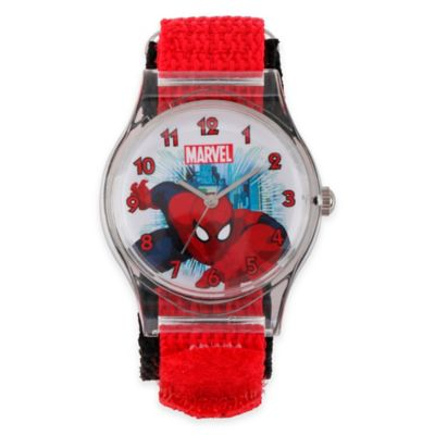 Plastic with Red Strap Childrens Watches