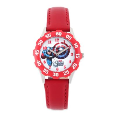 Red Steel Watch