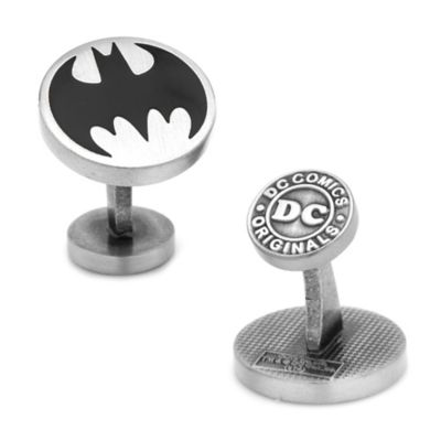 DC Comics™ Vintage Batman Logo Cufflinks