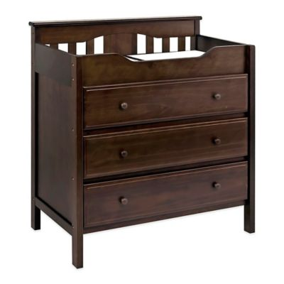 DaVinci 3-Drawer Changer Dresser in Espresso