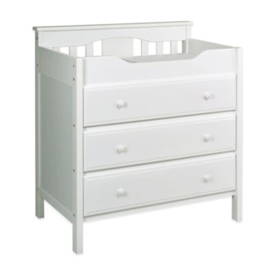 DaVinci 3-Drawer Changer Dresser in White