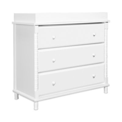DaVinci Jenny Lind 3-Drawer Changer Dresser in White