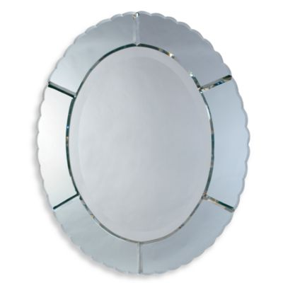 Uttermost Evana Oval Wall Mirror