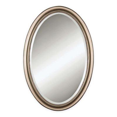 Buy Oval Framed Mirror From Bed Bath Beyond