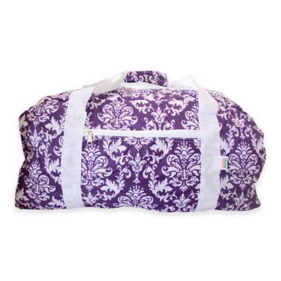 Purple Folding Duffle