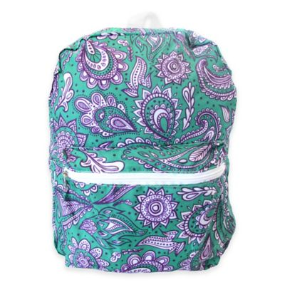 FashionIt® Folding Backpack in Lily Green