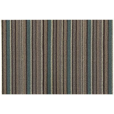 Lexington 18-Inch x 30-Inch Scraper Door Mat in Baxter Walnut