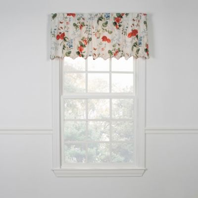Floral Window Curtains Valances
