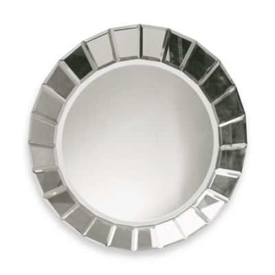 Frameless Beveled Mirror