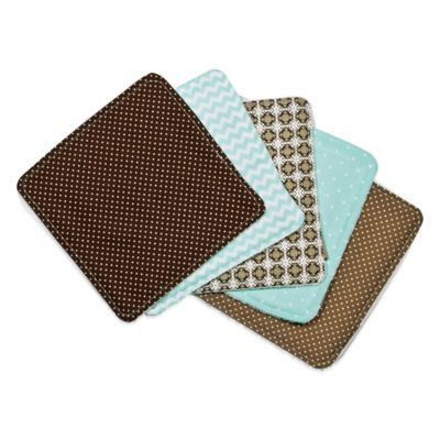 Mint Washcloth Set