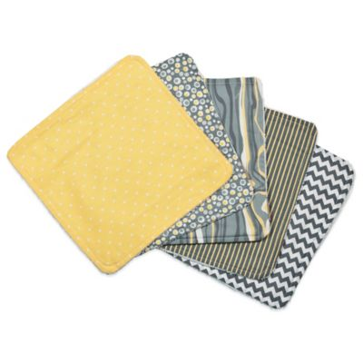Trend Lab® 5-Pack Hello Sunshine Washcloths