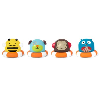SKIP*HOP® 8-Pack Zoo Bath Squirties