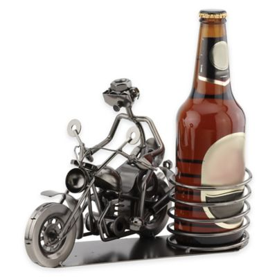 Biker Wine Bottle Holder