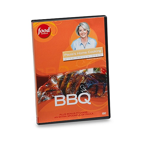 Paula's Home Cooking BBQ DVD with Paula Deen