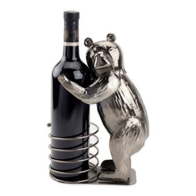 Pronto Honey Bear Wine Bottle Holder