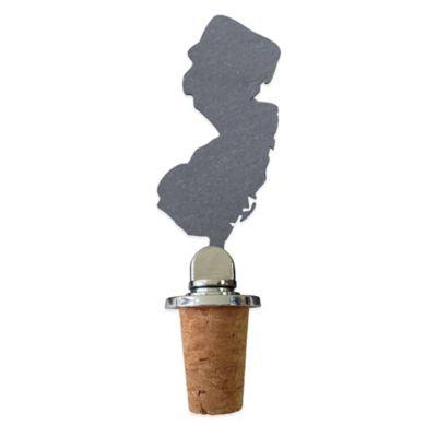 Top Shelf Living Slate New Jersey Wine Stopper