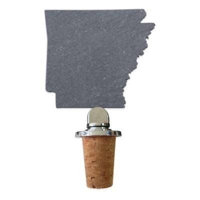 Top Shelf Living Slate Arkansas Wine Stopper