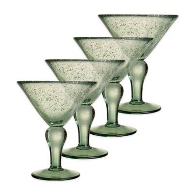 Style Setter Riley Martini Glasses (Set of 4)