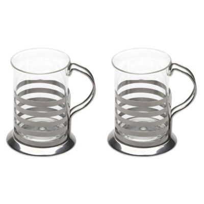 BergHOFF® 2-Piece Studio Striped Cup Set
