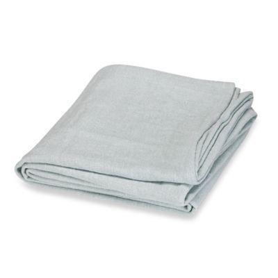 Wamsutta® Vintage Verona King Blanket in Aqua