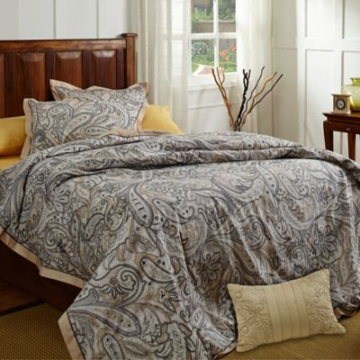Vintage Stardust King Duvet Cover Set in Gold