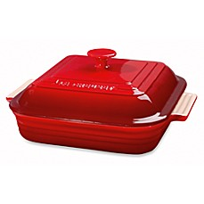 Le Creuset® Heritage 3-Quart Covered Square Casseroles
