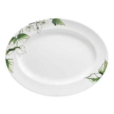 Vera Wang Wedgwood® Floral Leaf Oval Platter