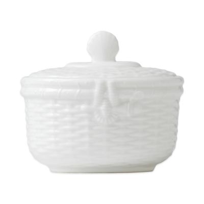 Wedgwood® Nantucket Basket Covered Sugar Bowl
