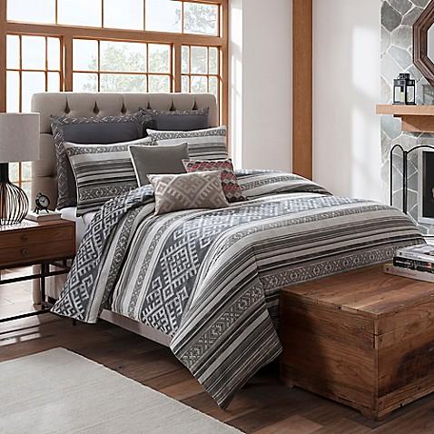 Aztec stripe duvet cover for Aztec bedroom ideas